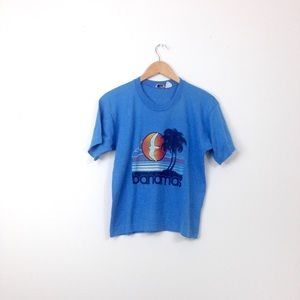 VTG 80s vaporwave single stitch t-shirt top T51